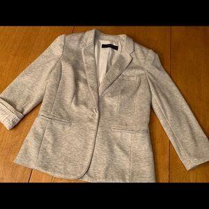 The Limited light gray blazer